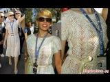 Вяжем платье,как у Кайли Миноуг(Часть 4 ) Промежуточное видео.