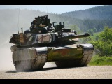 M1A2 Abrams US Marine US Army Main Battle Tanks Show Their Brutal Force