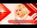 Living Doll Sada Vidoo covers Pat Benatar classic  Auditions Week 2  The X Factor UK 2016