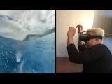 VR Box II приложения американские горки, видео-плеер, фильмы в 3D