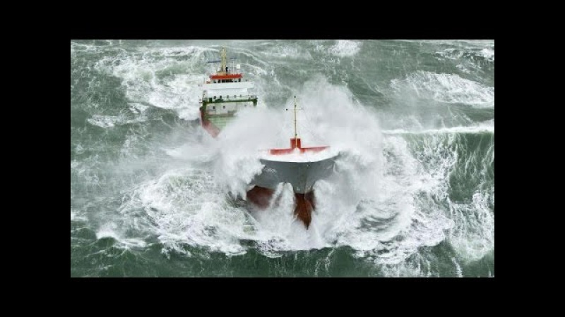Ship in Storm Compilation | Seafarers life