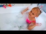 Алиса ищет сюрпризы Маша и Медведь в пенной ванне Развлечение для детей Игрушки ...