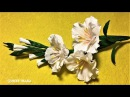 How to make an easy origami paper flower diy crepe paper flower making step by step easy fast