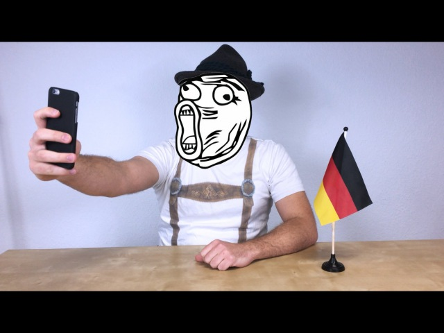 How German Sounds Compared To Other Languages (English) - iPhone Edition