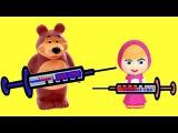 Маша и Медведь мультик с куклами УКОЛ ДЛЯ СНА Маша и Миша Играют вместе на русском игрушки для детей