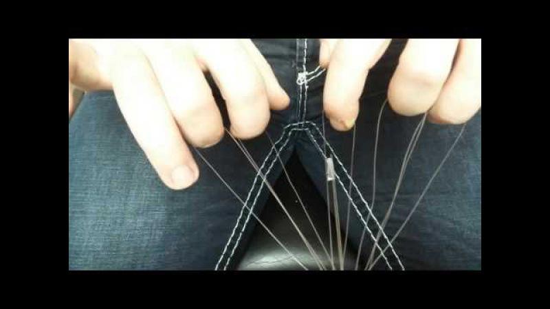 Slentre Braid Coil Teil 1. Einfachste Methode