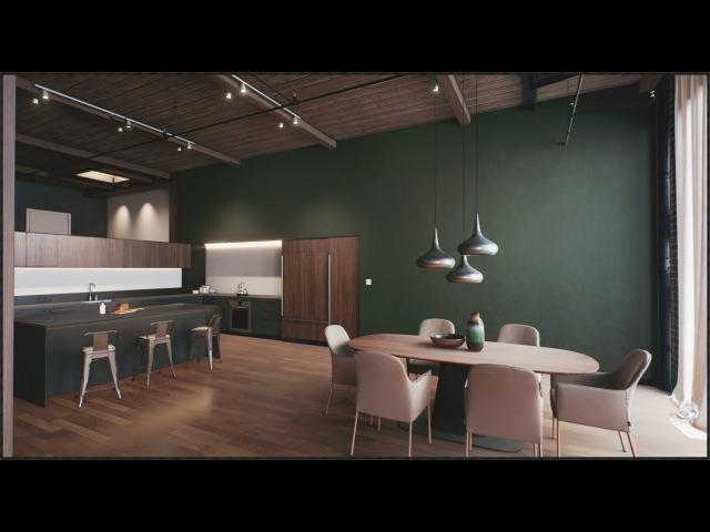 UE4 Architectural Visualization - San Francisco Loft