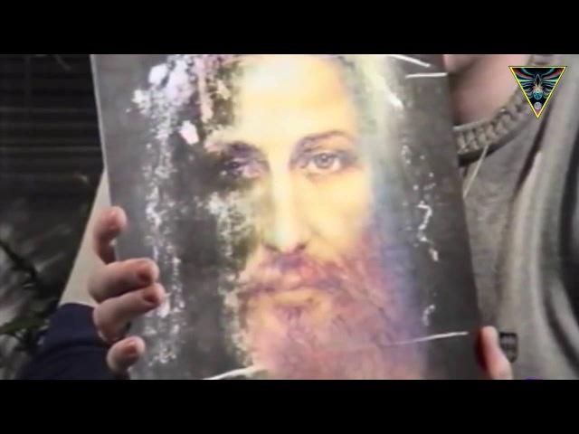 Николай Левашов показывает лик Иисуса Христа
