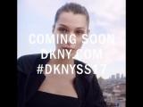 Белла Хадид для «DKNY» (тизер)