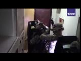 Видео задержания террористов в Москве