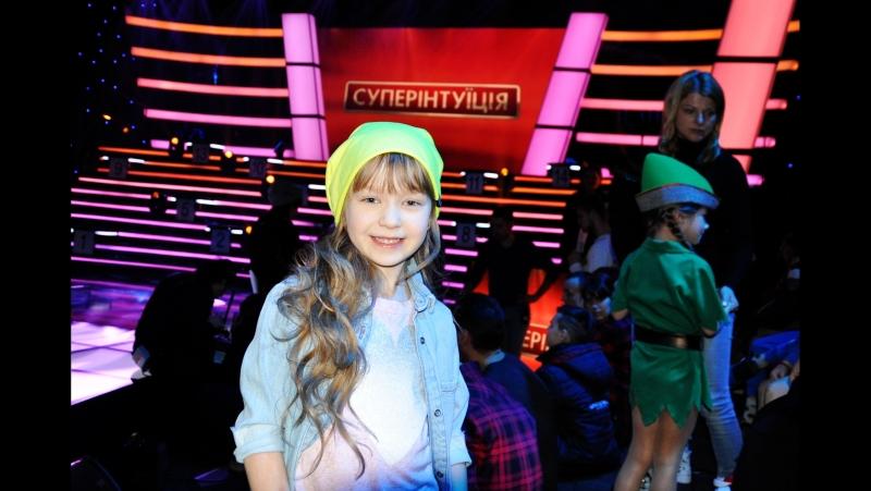 Шоу СУПЕРІНТУЇЦІЯ, Софія Котлярова (дитина, яка зіграла в 17-ти фільмах)