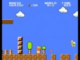 Super Mario Bros. Прохождение игры на приставке Денди_Dendy