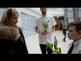 Необычные поздравления игроков БК ТВЕРЬ вместе с учениками УЦ Виста для девушек с 8 марта