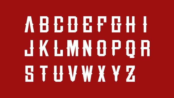 Шрифт R-U-D-E