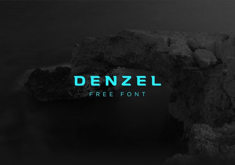 Шрифт Denzel