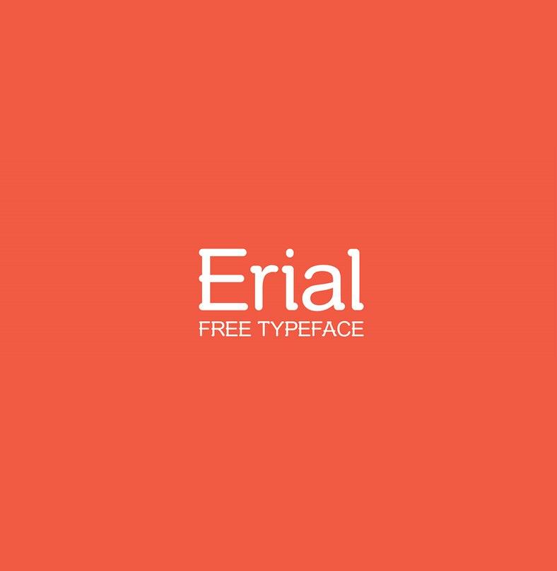 Erial шрифт скачать бесплатно