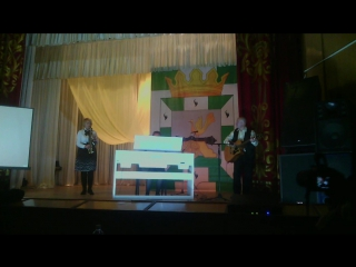 Любаша играет на пианино, плюс саксофон и гитара!!! Конкурс