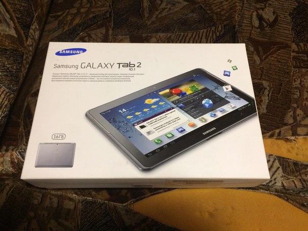 Продам планшет. Samsung galaxy tab 2, 10.1 дюйм. 16 gb памяти  6000 ру
