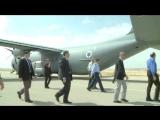 Посольство США в Тель-Авив - C-130J Самсон Тактический транспортный самолет прибыл в Израиле [1080]