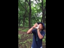 Guy chugs water and throws it up
