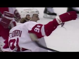 Fedorov- Scores All Five Detroit Goals vs. Capitals (1996) / Сергей Федоров 5 шайб в ворота Вашингтона!