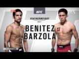 UFC-211 Габриэль Бенитез vs Энрике Барзола полный бой