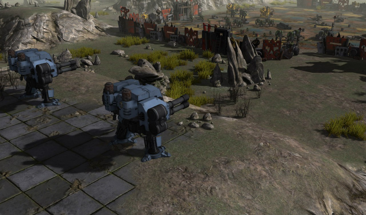 Warhammer 40,000: Sanctus Reach (2016) PC - Скриншот 3