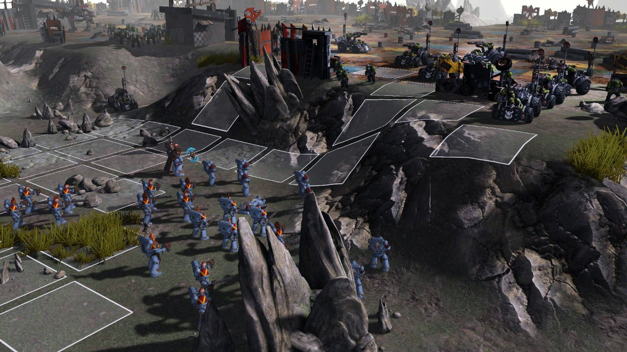Warhammer 40,000: Sanctus Reach (2016) PC - Скриншот 1