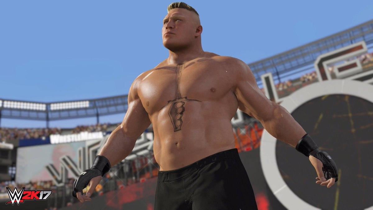 WWE 2K17 (2017) PC - Скриншот 3