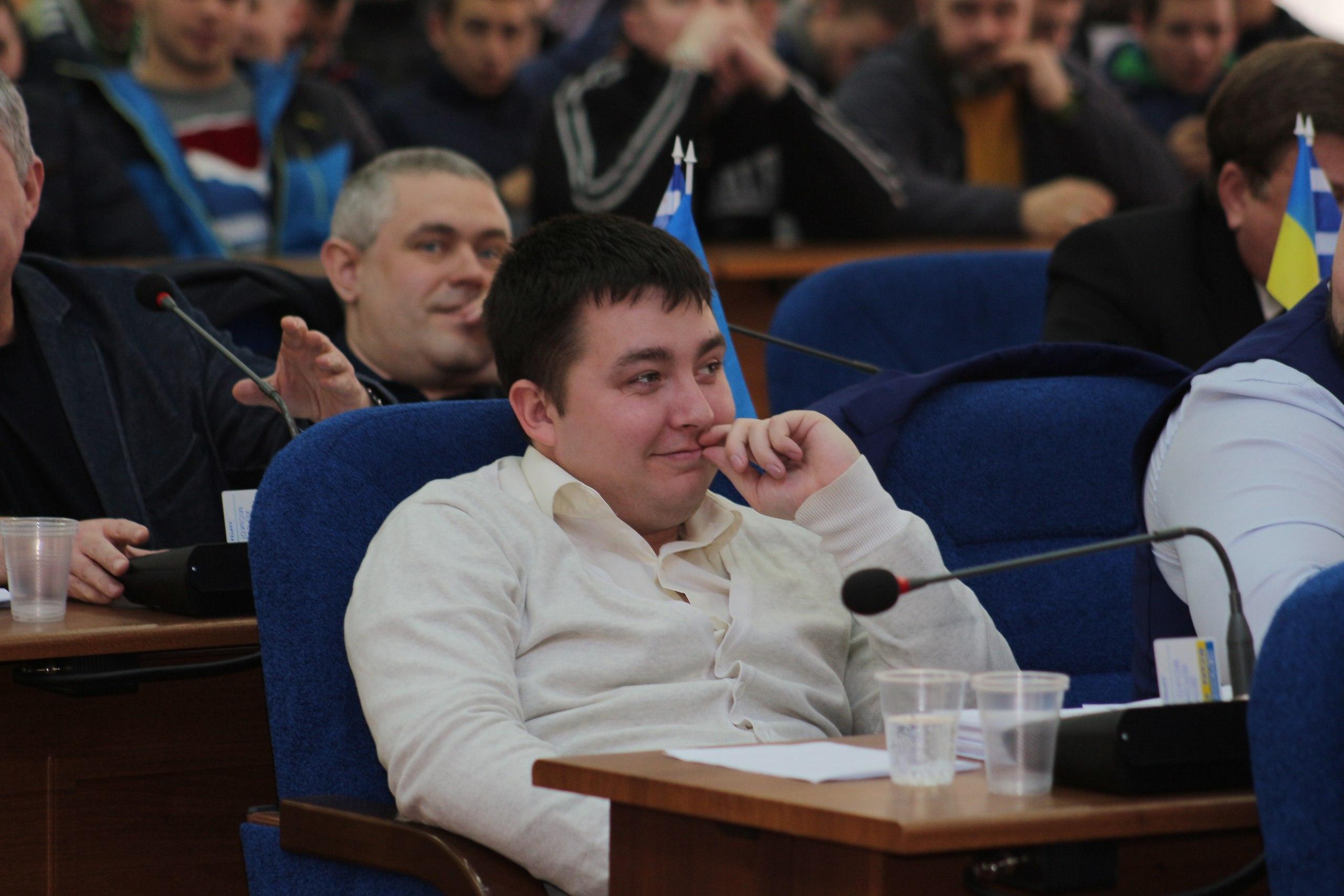 Евгений Матковский депутат горсовета, коррупционер на поводке у мэра