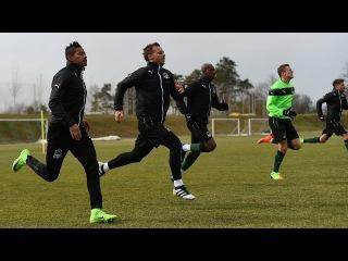 Тренировочный процесс «Краснодара» накануне кубкового матча с «Уралом»