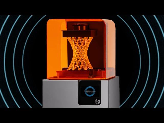 Обзор 3D принтера FormLabs Form 2 настольный стереолитографический лазерный 3D принтер SLA принтер