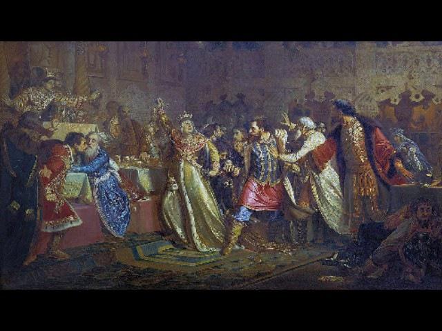 Междоусобная война московских Рюриковичей (рассказывает историк Владислав Назаров)