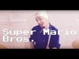 Super Mario Bros. - Main theme.  Drum cover