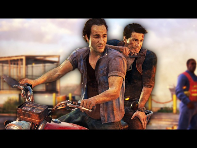 THAT WAS CLOSE! | Uncharted 4 - Part 5