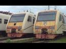 Электропоезда ЭМ4-014 и ЭМ4-013 (на консервации)