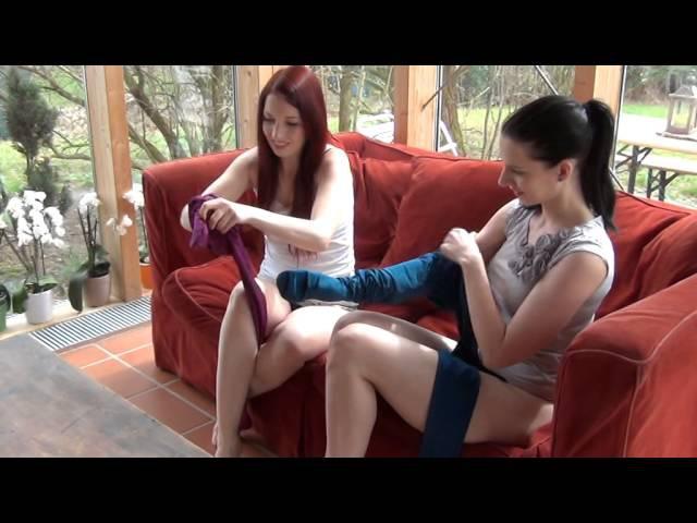 PANTYHOSE REVIEW Swap coloured Pantyhose - bunte Strumpfhosen tauschen