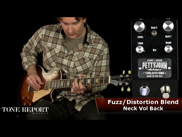 Pettyjohn Electronics Fuze Distortion Fuzz