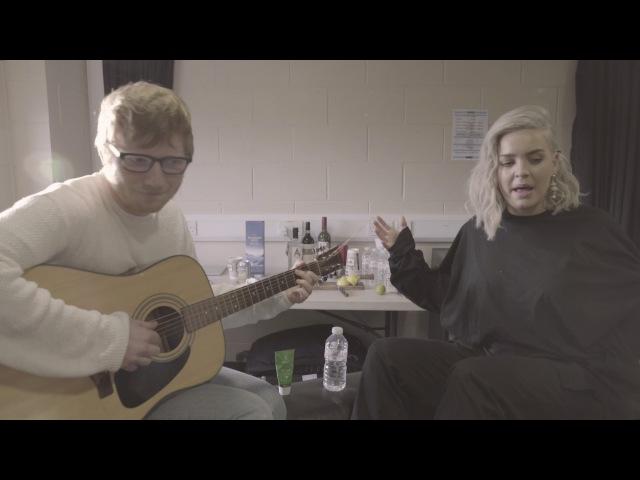 Anne Marie Ed Sheeran Ciao Adios Acoustic