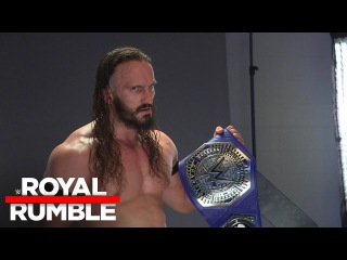 [#My1] WWE Cruiserweight Champion Neville's backstage photo shoot: Royal Rumble Exclusive, Jan. 29, 2017