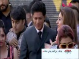 Shahrukh & Kajol arriving at MBC in Dubai