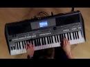 Kraft Music Yamaha PSR S670 Arranger Demo with Blake Angelos