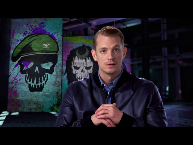 Suicide Squad: Joel Kinnaman Rick Flag Behind the Scenes Movie Interview