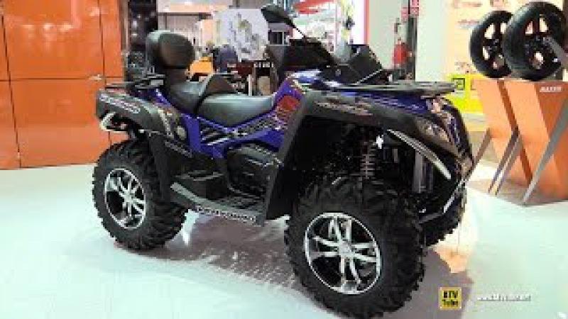 2016 CFmoto Patrol XR3 800 Recreational ATV - Walkaround - 2015 EICMA Milan