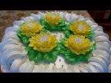 РЕЦЕПТ торта Торт суфле КАПРИЗ Украшаем торт белково заварным кремом Cake decoration