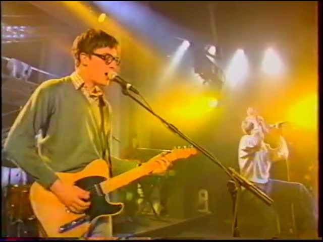 Blur - Charmless Man, Country House (Live in Nulle Part Ailleurs Show, Paris, France 25/10/1995)
