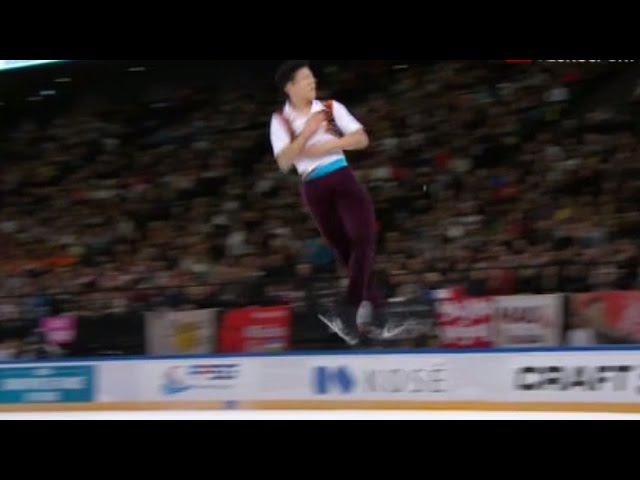 B.ESP. Nathan CHEN SP - 2016 Trophee de France (Trophee Eric Bompard)