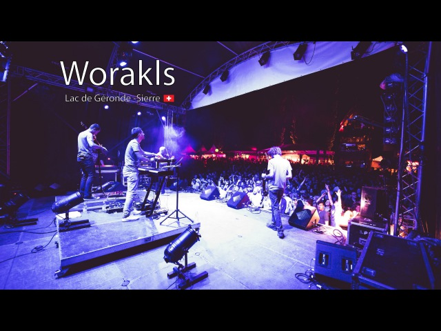 Worakls band Live Festival Week end au bord de l'eau 1 July 2016 Sierre Switzerland