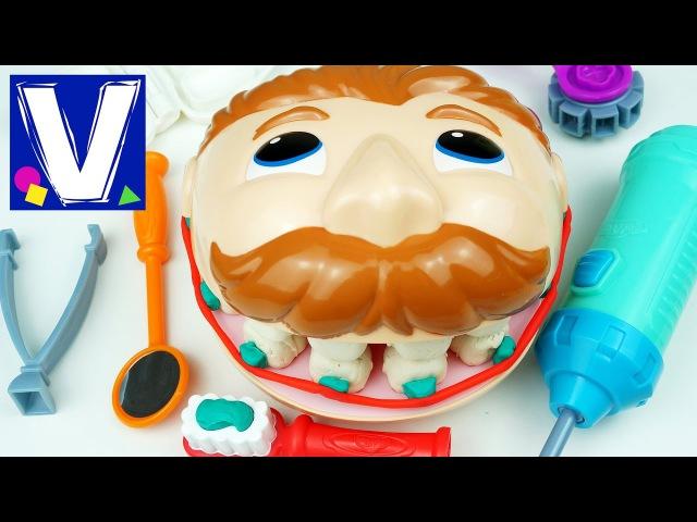 👦 Плей До мистер Зубастик Играем в стоматолога
