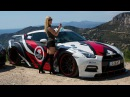 PORNSTAR Mareike Fox driving her Prior Design GT R PD750 Widebody